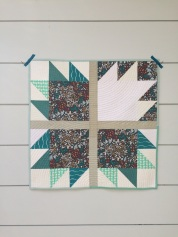 finished mini quilt