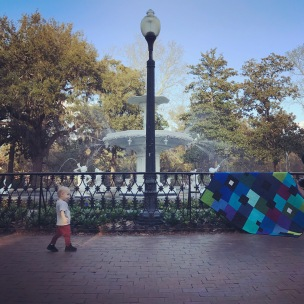 forsythe park & - quilt by Nicole Nebblett