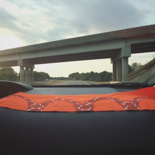 arches and bridges, stitching on the road