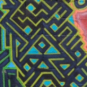 graffiti color & pattern
