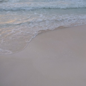 soft sand and crystal blue water