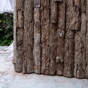 wooden doors at Casa Malca